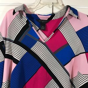 Investments II blouse plus size 2x